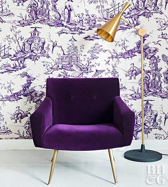 כורסא סגולה