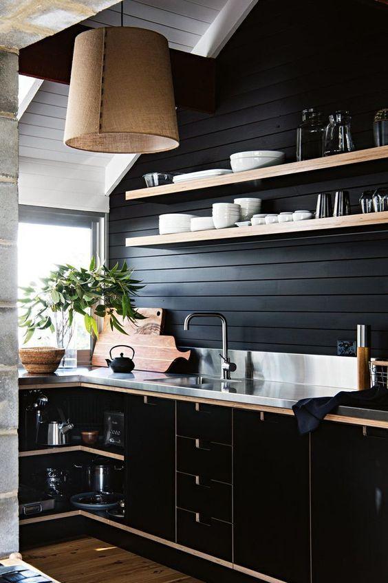 שחור זה המטבח החדש